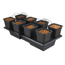 Wilma Wide Large 8 Pot ( 18 Litres ) Complete Dripper System ( NEW STYLE )